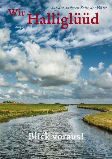 Cover des Halligmagazin 2015